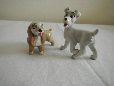 wade Whimsies Lady & Tramp dogs in very good condition
