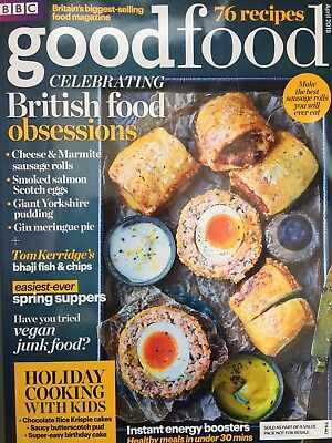 BBC Good Food Magazine April 4/2018 Holiday Cooking with Kids British Food