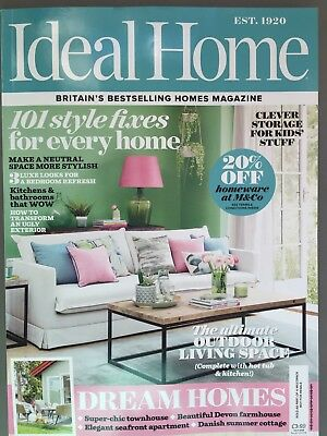 Ideal Home Magazine July 7/2018 101 Style Fixes for Every Home Current Issue