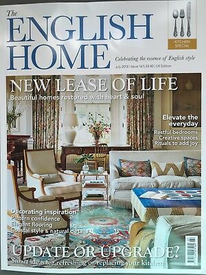 The English Home Magazine Issue 161 July 7/2018 New Lease of Life Current Issue