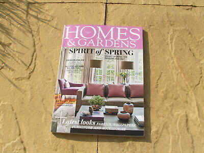 Homes & Gardens Magazine April 2018 Back Issue**excellent**