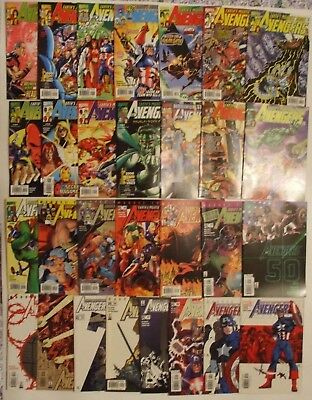 Marvel US Comics Avengers. 29 issues between 23 to 58. (Not a complete run).