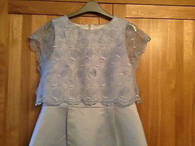 Ted Baker pale blue dress for races or wedding size 4 / 14