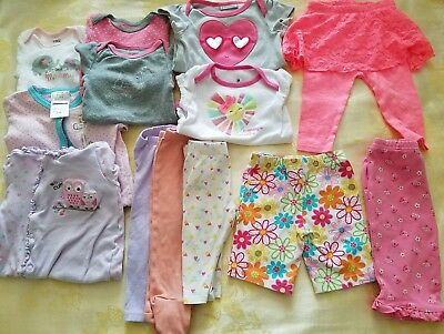 Summer outfits Girl 6-9 months Clothes Lot Adorable Spring/Summer 30 pcs  #32