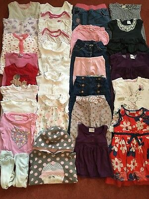 Bundle Of Baby Girl Clothes 6-12 Months. Baby Boden Next Jojo Maman Bebe