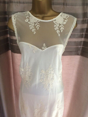 Next Ladies Wedding/cruise/races Maxi Dress Size 14 Tall New With Tags Rrp £65