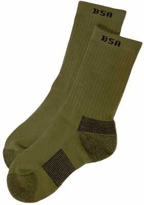 The Official Boy Scout of America Uniform CoolMax Crew Socks-New