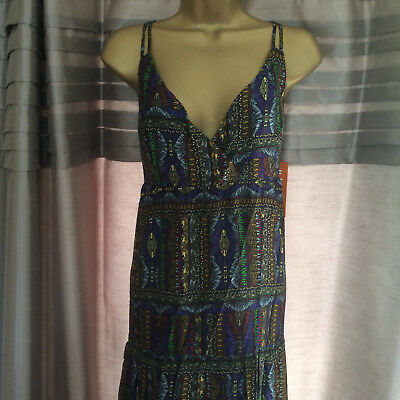 Next Ladies Wedding/cruise/races Maxi Dress Size 14 New With Tags Rrp £35