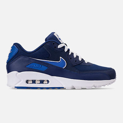 info for 7107d 413a9 Nike Air Max 90 Essential Blue Void Casual Shoes Men s Select Your Size