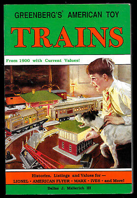 """""""GREENBERG'S American Toy Trains """"  Softcover 1st Ed. 1990     Price Guide"""