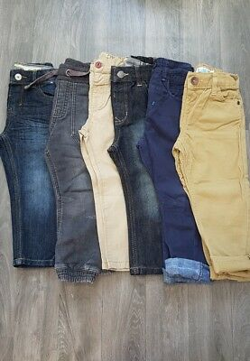 BOYS JEANS/TROUSERS AGE 2-3 Years BUNDLE,NEXT,M&CO,GEORGE,DENIM,CHINO,PULL ON