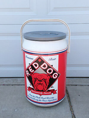 Red Dog Giant Beer Can Insulated Cooler