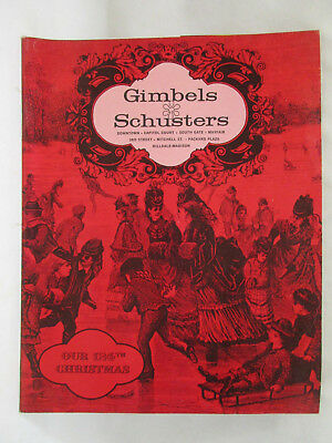 "1960's(?) GIMBELS SCHUSTERS ""Our 124th Christmas"" Catalog, 90 pages"