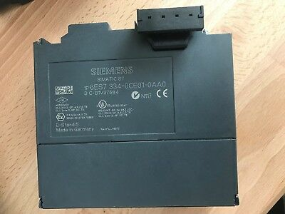 Simatic S7-300, 6Es7334-0Ce01-0Aa0, Without Box