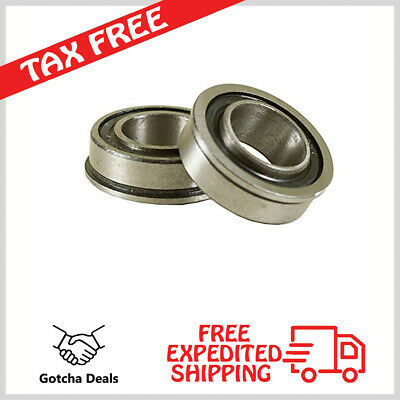 "Flanged Ball Bearing Lawn Mower  Wheelbarrows Carts4 Pack  ID 3//4/"" X OD 1-3//8/"""