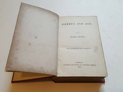 """Charles Dickens """"Dombey & Son"""" 1st edition 1848"""