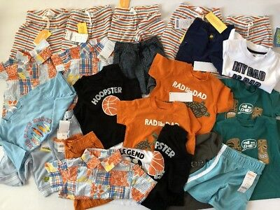 NWT Gymboree Boys Wholesale Lot 0 6 12 18 Months $300+ 18 Pc Summer