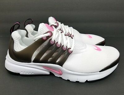 2a4ae28f199f NIKE PRESTO GS Running Shoes Trainers White Pink 833878-105 Size 4Y ...