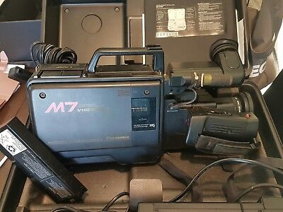 Vhs-Shm7 Video Recorder With Accessories