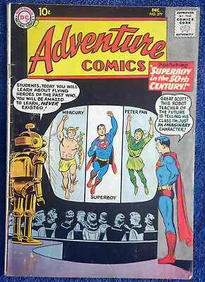Adventure Comics #279 Superboy in the 50th Century! Aquaman! Congorilla!