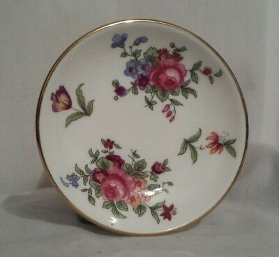 Crown Staffordshire Bone China Miniature Plate Butter Pat, England