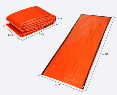 First aid sleeping bag outdoor survival blanket first aid thermal insulation PE