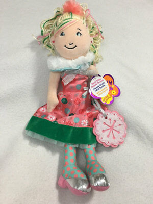 NWT Manhattan Toy Groovy Girls Merry Marissa Plush Doll Toy Xmas Ornament