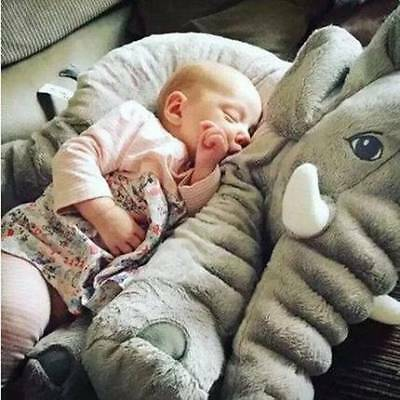 Baby Children Soft Elephant Toy Lumbar Pillow Long Nose Doll Plush Stuff Cushion
