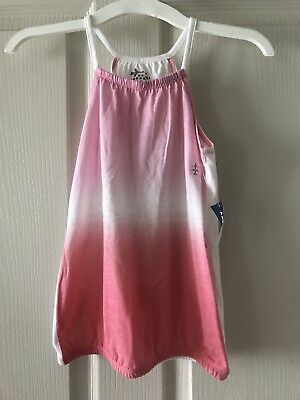 Girls Old Navy Multi Color  Tank top shirt size S 6-7  New With Tags