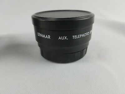 Lenmar Aux Telephoto Lens distance to oblect 2m japan