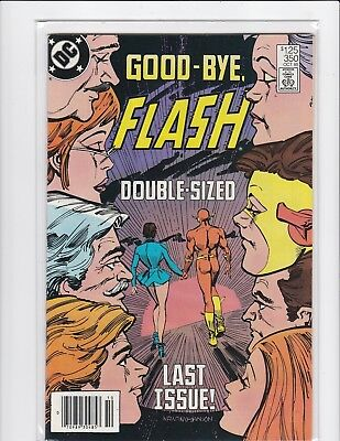 The Flash #350 newsstand - Last issue - 1985 - Very Fine/Near Mint