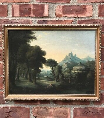 Early 19th Century Painting. Thomas Coles Dreams Of Arcadia Hudson River School