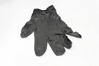 Heavy Duty Disposable Nitrile Gloves - Black 50 Pairs Large Mdnpfhdl