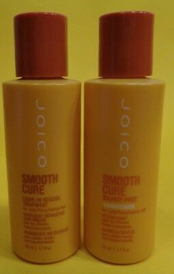 Joico 1 X Smooth Cure Leave in Rescue Treatment 50 ml & 1 X Conditioner 50 ml