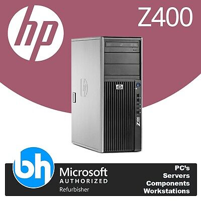 HP Z400 Intel Xeon Six 6-Core W3680 3.33GHz 16GB RAM Quadro GFX Workstation PC