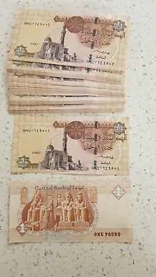 Uncirculated 1 Egyptian Pound