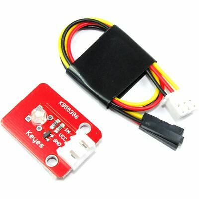 Keyes 5mm White Straw Hat LED Module KY-039 Helmet 20cm Arduino Flux Workshop