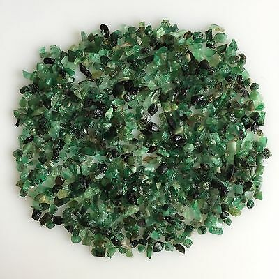90Ct Scoop Natural Emerald Green Rough Gemstone Loose Mineral Lot Raw Earthmined