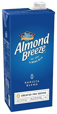 Blue Diamond Almond Breeze Barista Blend Almond Milk (12x1L cartons)