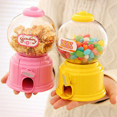 UK Machine Dispenser Gumball Vending Machine Coin Box Gift Kid Baby Toy Plastic