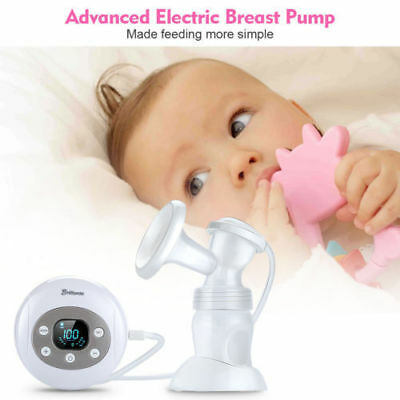 LED Pantalla Extractor de Leche Eléctrico Sacaleches Breast Pump Seguridad