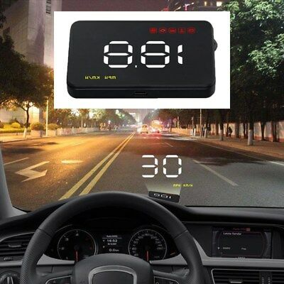 Universal Auto Head Up Display OBD 2 LCD HUD Geschwindigkeit Display Sys ES