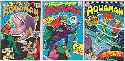 Aquaman Issues #23 #25 #26 GOOD/VERY GOOD 3.0 (GD/VG) Cream - White pages