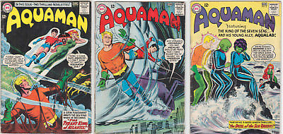 Aquaman Issues #14 #15 #16 GOOD/VERY GOOD 3.0 (GD/VG) Cream - White pages