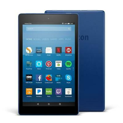 LATEST Amazon Kindle Fire HD 8 16gb Tablet with Alexa! - 7th Gen BLUE