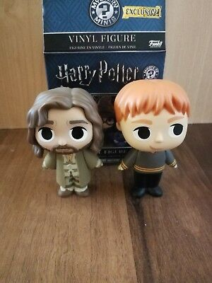Funko Mystery Minis Harry Potter Hot Topic Exclusives Fred Weasley, Sirius