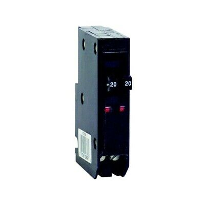 Single-Pole Tandem Circuit Breaker Qo 2-20-Amp Twin Circuits single Panel