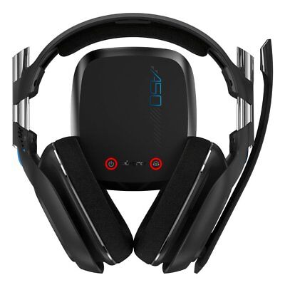 ASTRO Gaming A50 PS4 - Black (2014 Model) Wireless Headset w/ Mic - VG - Read