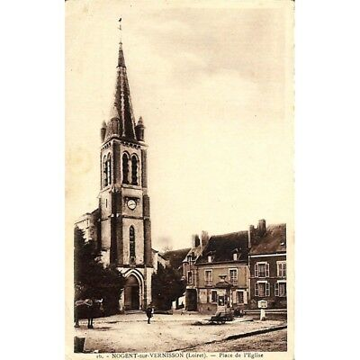 [45] Nogent-sur-Vernisson - Place de l'Eglise.