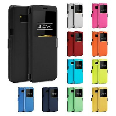 Urcover® Wallet View Case   View Window Flip Cover   Smartphone Lid Case